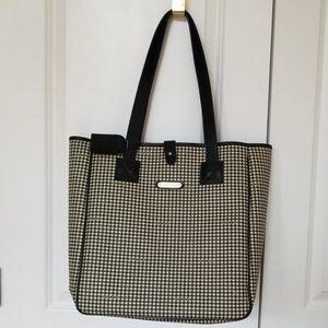 Ralph Lauren Houndstooth Tote Bag